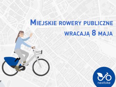 (Polski) W piątek 8 maja, startuje system Żyrardowskiego Roweru Miejskiego
